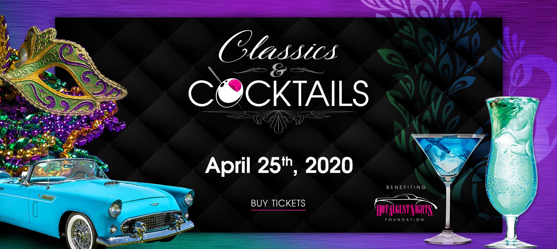 Classics & Cocktails 2020