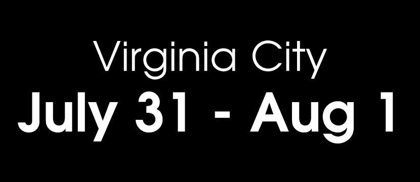Virginia City 2020 Dates