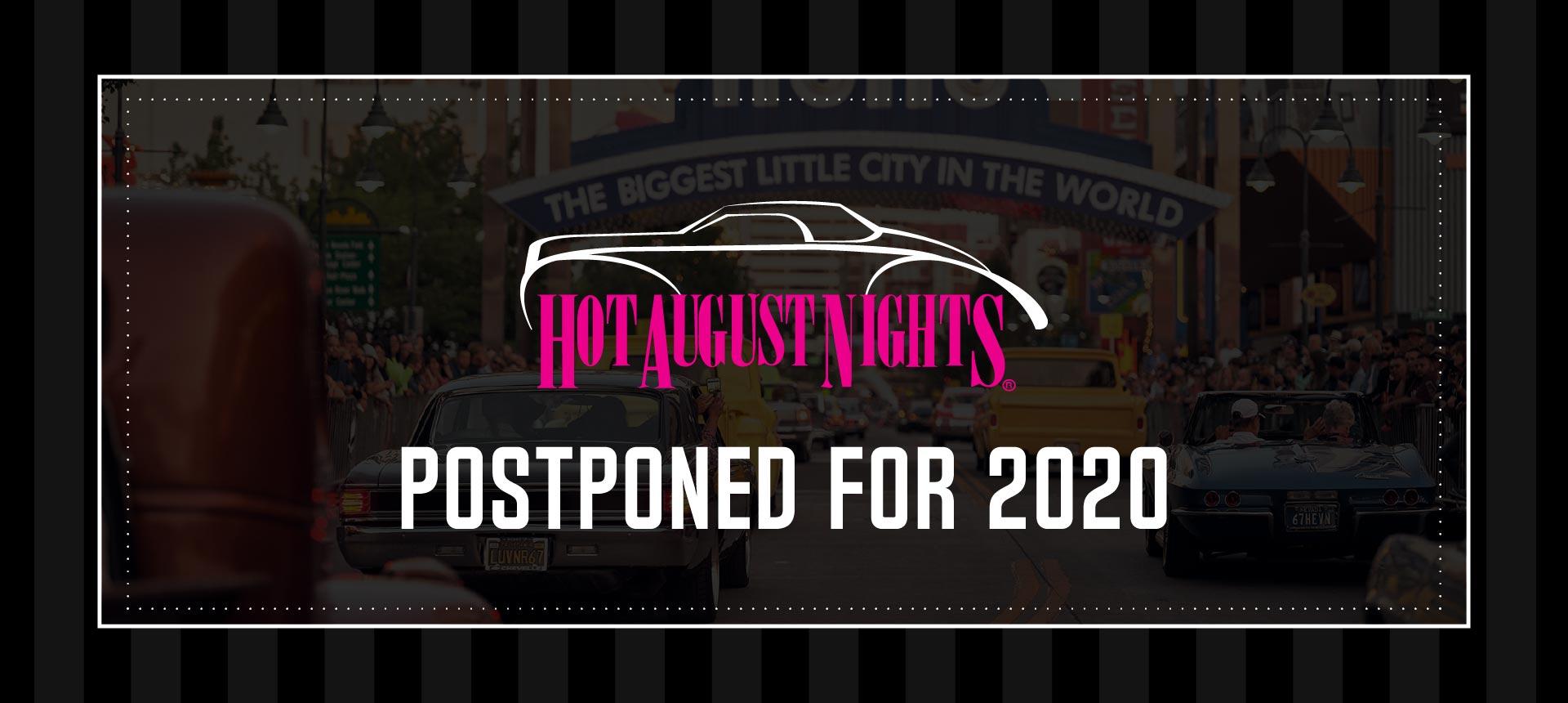 HAN Postponed for 2020 dt