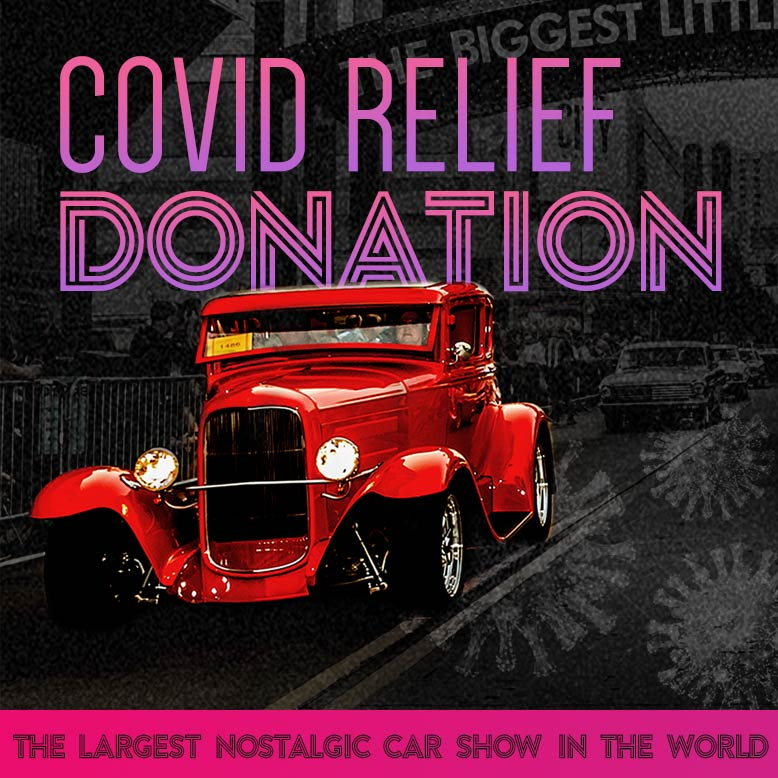Hot August Nights Covid Relief Donation