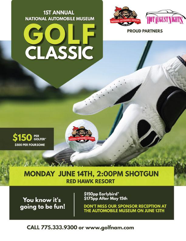 The National Automobile Museum Golf Tournament