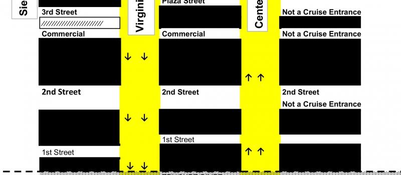Reno Cruise Map